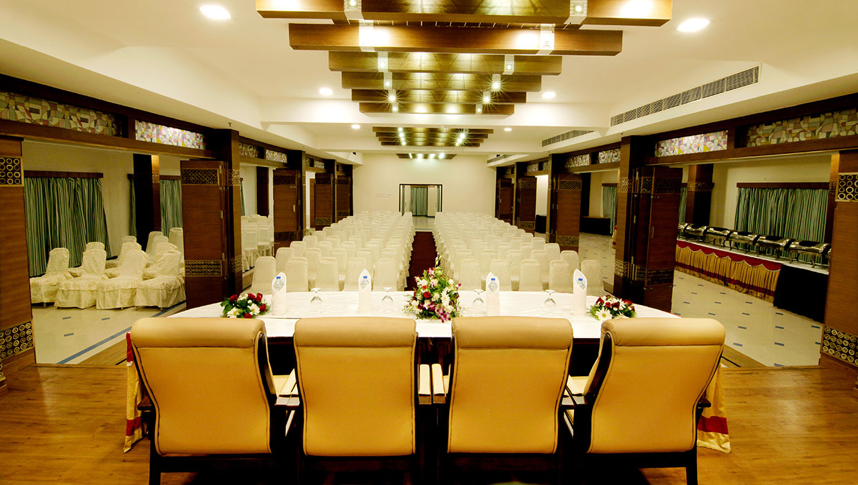 Business hall in hotels in kannur