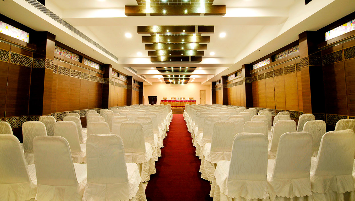 Meeting hall in hotels in kannur