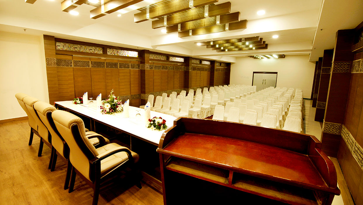 conference halls in hotels in kannur